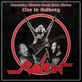 Raven - Screaming murder death from above: Live in Aalborg | 2LP + CD coloured vinyl