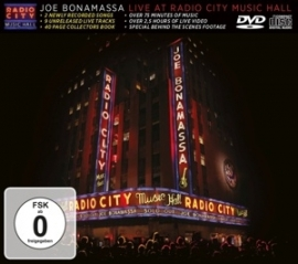 Joe Bonamassa - Live at Radio City Music Hall   CD + DVD