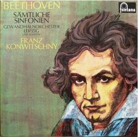 Gewandhausorchester Leipzig, Ludwig van Beethoven, Franz Konwitschny – Sämtliche Sinfonien   | 2e hands vinyl 6LP Box