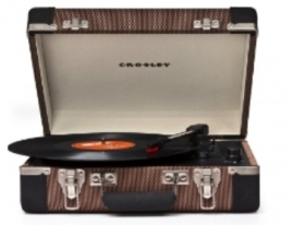 Crosley Cruiser Executive Tweed/Black