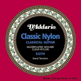 D'Addario Classic Nylon - Silverplated Wound EJ27H