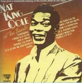 Nat King Cole - At the Sands  | 2e hands vinyl LP