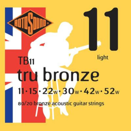 Rotosound TB11 Tru Bronze Acoustic Bronze Light