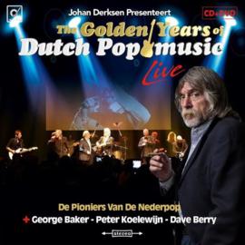 Johan Derksen presenteert: Golden Years of Dutch pop music live | CD + DVD