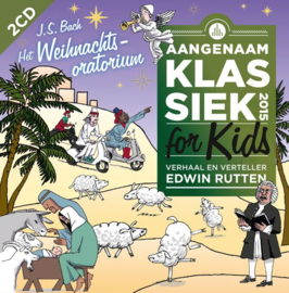 Aangenaam Klassiek for kids 2015 - Edwin Rutten | 2CD