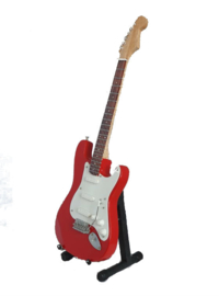 Miniatuurgitaar Andy Summers ( The Police ) - Stratocaster red