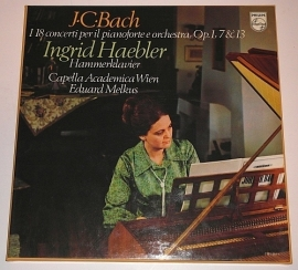 Johann Christian Bach, Ingrid Haebler, Eduard Melkus, Capella Academica Wien – I 18 Concerti Per Il Pianoforte E Orchestra, Op. 1,  | 2e hands vinyl 5LP Box