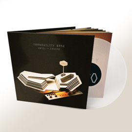 Arctic Monkeys - Tranquility base hotel | LP -indie only clear vinyl- booklet (op=op)
