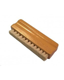 Platenborstel geitenhaar hout