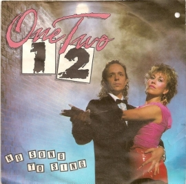 """One Two - No Song To Sing - 2e hands 7"""" vinyl single-"""