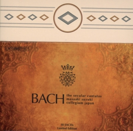 Bach Collegium Japan/Masaaki Suzuki: J.S. Bach - Secular Cantatas | 10CD-Boxset  (SACD)