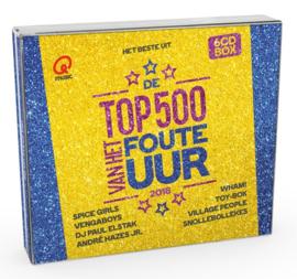 Various - Q-Music top 500 van het foute uur 2018 | CD