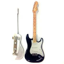 Gitaarspeld Strato black ( Eric Clapton)