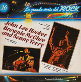 John Lee Hooker / Brownie McGhee And Sonny Terryy - La grande storia del rock  | 2e hands vinyl LP