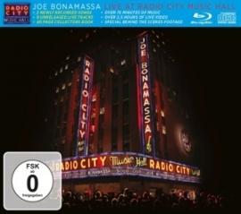 Joe Bonamassa - Live at Radio City Music Hall   CD + Blu-Ray