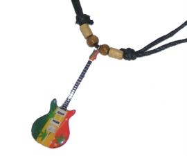 Halsketting gitaar -  PRS Marijuana (Bob Marley)