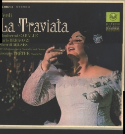Verdi - La Traviata  - 2e hands vinyl 2LP-
