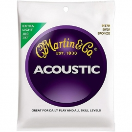 Martin Acoustic M170 - Bronze Extra Light