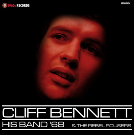 Cliff Bennett & the Rebel Rousers ‎– His Band '68 | LP -MONO-