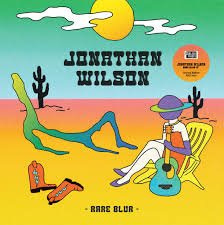 "Jonathan Wilson -  Rare Blur   12"" vinyl E.P."