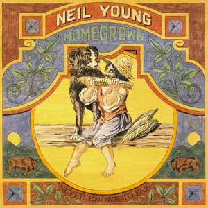 Neil Young - Homegrown   LP + Litho