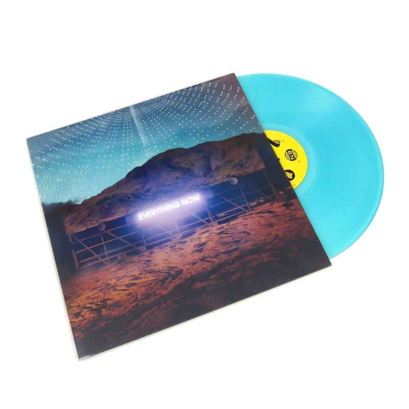 Arcade fire - Everything now | LP -night version, turqoise vinyl-