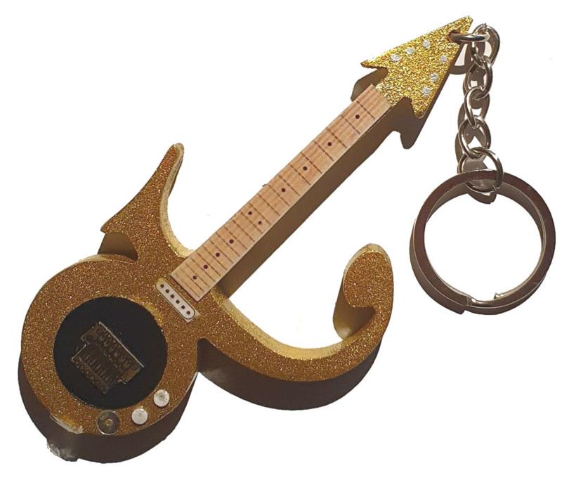 Sleutelhanger Prince - symbol -goud-