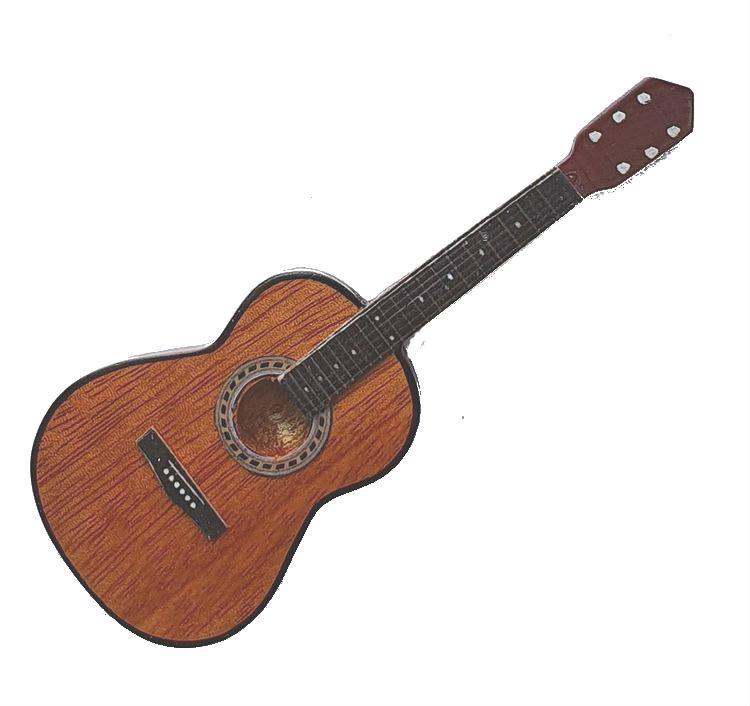 Gitaarminiatuur met magneet |   Klassieke gitaar