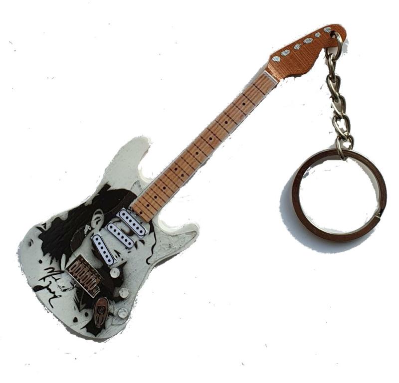 Sleutelhanger  Michael Jackson tribute -Stratocaster -