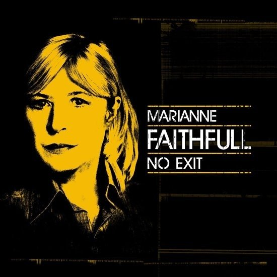 Marianne Faithfull - No exit   LP