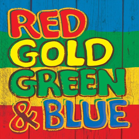 Various - Red Gold Green & Blue |  CD