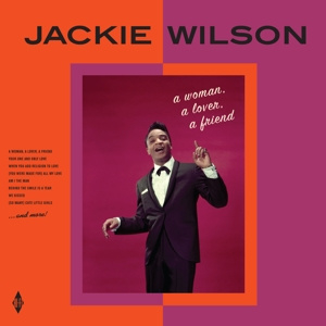 Jackie Wilson - A Woman, a Lover, a Friend    LP