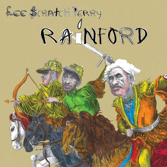 Lee Scratch Perry - Rainford    LP -Coloured vinyl-