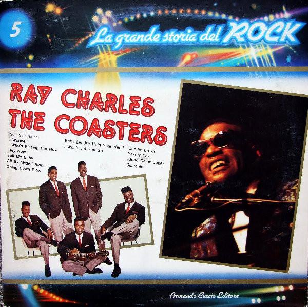 Ray Charles / The Coasters - La grande storia del rock    2e hands vinyl LP