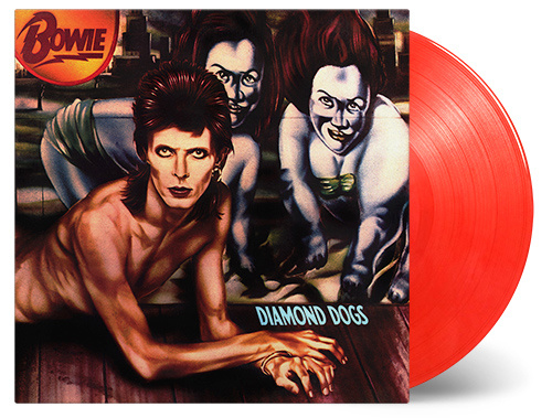 David Bowie - Diamond dogs  | LP 45th anniversary  -Coloured vinyl-