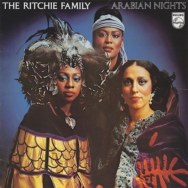 Richie Family - Arabian nights      2e hands vinyl LP