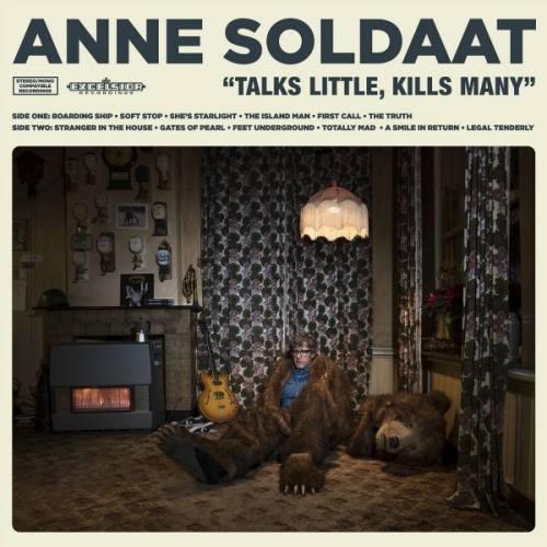 Anne Soldaat - Talks little, kills many   LP + CD