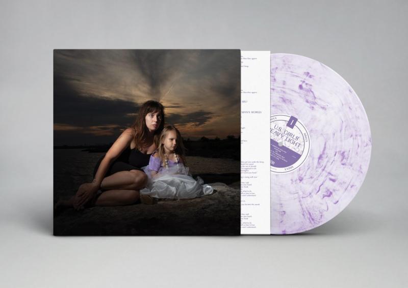U.S. Girls - Heavy Light | LP -Coloured vinyl-