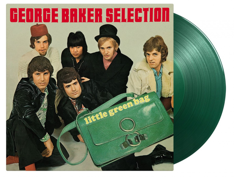 George Baker -Selection- - Little Green Bag   LP -Coloured vinyl-