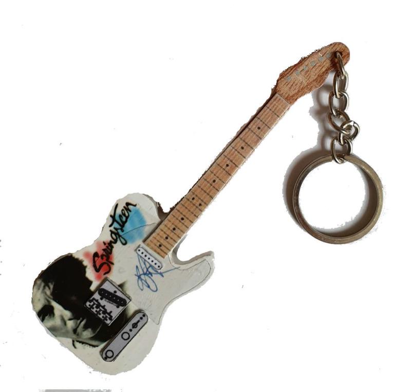 Sleutelhanger Telecaster - Bruce Springsteen tribute-
