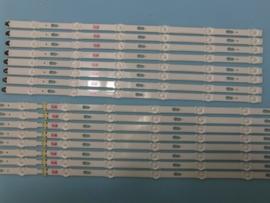 LS923/65 SET BACKLIGHT LED STRIPS  ( 16 STUKS ) BN96-34807A EN BN96-34808A  IDEM  BN96-34665A EN BN96-34666A   IDEM  BN96-34809A EN  BN96-34810A  IDEN  BN96-39667A EN  BN96-39668A SAMSUNG