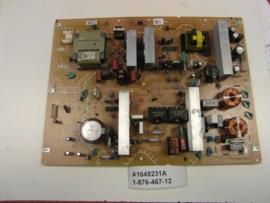 POWERBOARD  A1648231A  1-876-467-12  SONY