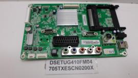 MAINBOARD   DSETUG410FM04  IDEM 705TXESCN0200X  SHARP