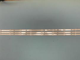 LS708/43   SET LED STRIPS ( 3 STUKS )  996592001005   ) IDEM  996592000839  PHILIPS