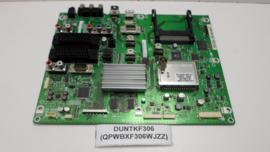 MAINBOARD   DUNTKF306 (QPWBXF306WJZZ)   SHARP