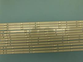 LS815/65 SET BACKLIGHT  LED STRIPS (12 STUKS)   AGF78818405  IDEM  AGF78818401  LG