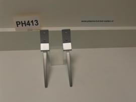 1PH413WK  VOET LCD TV    ZILVER LINKS IDEM RECHTS  996596502788  PHILIPS