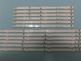 LS928/48 SET BACKLIGHT LED STRIPS  (12 STUKS)  6X BN96-30453A EN 6X BN96-30454A  SAMSUNG