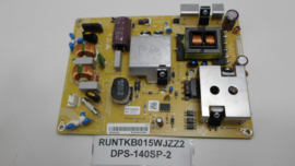 901 POWERBOARD  RUNTKB015WJZZ2  DPS-140SP-2 A  SHARP