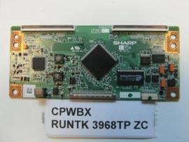 TCONBOARD CPWBX RUNTK 3968TP ZC  SHARP